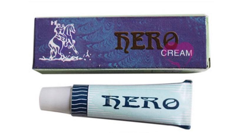 "Hero Cream - kem bôi hỗ trợ nam giới trong ""cuộc yêu"""