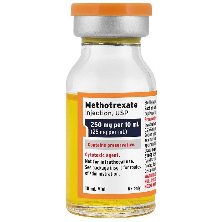 Methotrexate giúp ức bế tình trạng bệnh vảy nến hiệu quả