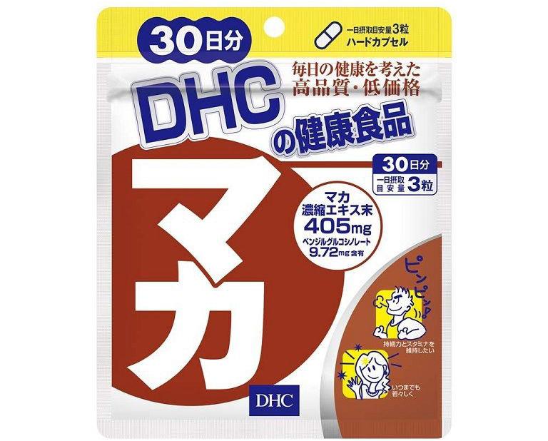 Maca DHC sử dụng 3 viên mỗi ngày