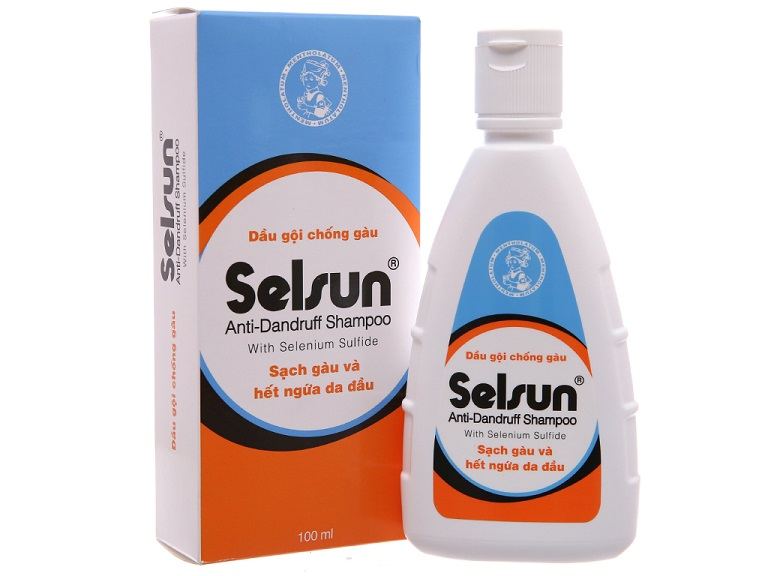 Selenium sulfide thuốc chữa viêm da đầu
