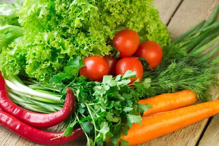 Ăn gì chống xuất tinh sớm hiệu quả - Rau xanh chống xuất tinh sớm tốt