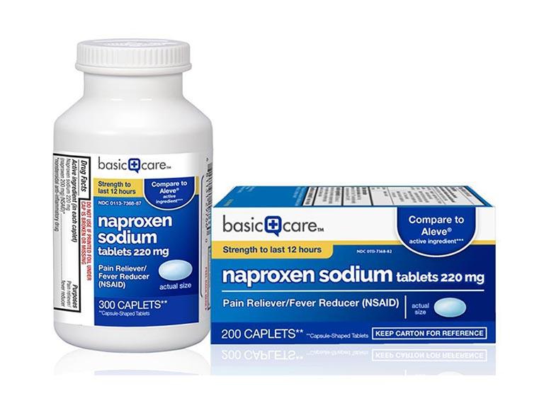 Naproxen - thuốc trị thoái hóa khớp gối
