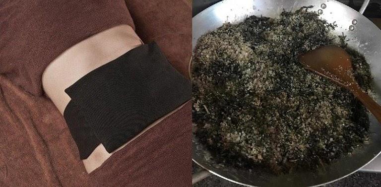 Bài thuốc đắp chế biến từ cây ngải cứu