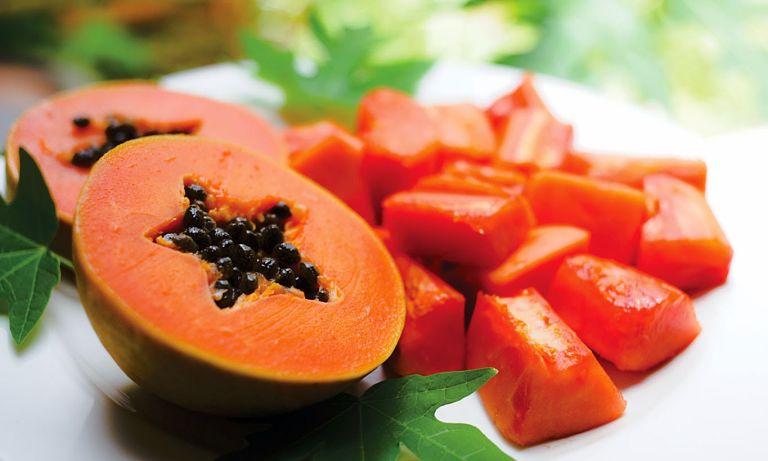 Đu đủ có chứa Beta carotene rất tốt cho sức khỏe xương khớp