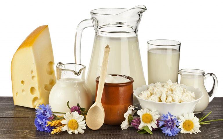 Người bệnh nên bổ sung thực phẩm chứa nhiều canxi