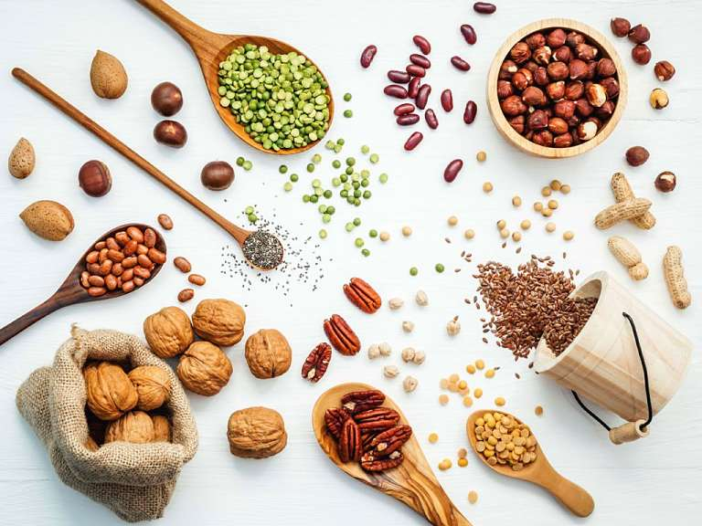 Các loại ngũ cốc là một trong những thực phẩm tạo dịch khớp hiệu quả