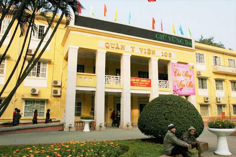 Bệnh viện 103 - một trong những địa chỉ phẫu thuật thoái hóa cột sống