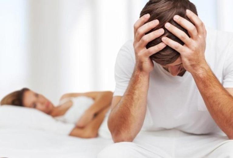 Giảm nhu cầu sinh lý là một trong những biểu hiện của tình trạng thận dương suy ở nam giới