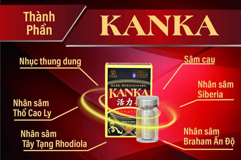 Thực phẩm chức năng bổ thận Kanka
