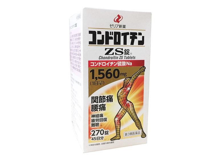 Thuốc tăng chất nhờn cho khớp của Nhật ZS Chondroitin