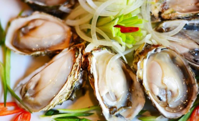 Hàu biển chứa nhiều kẽm, hoạt chất tốt cho sinh lý nam giới