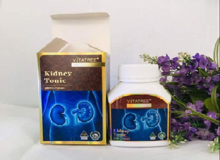 Thuốc bổ thận của Úc Vitatree Kidney Tonic giúp hỗ trợ điều trị các chức năng thận hiệu quả.