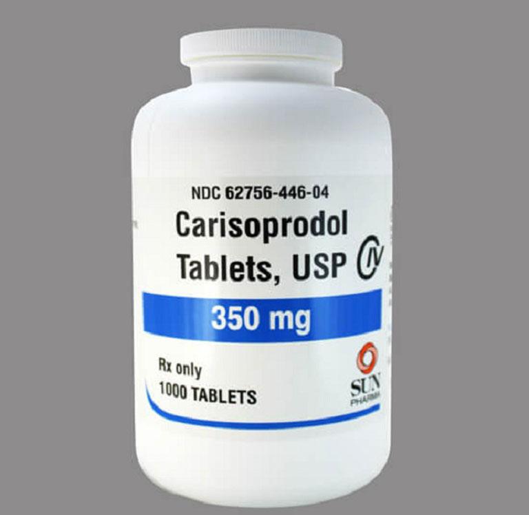 Thuốc giãn cơ Carisoprodol