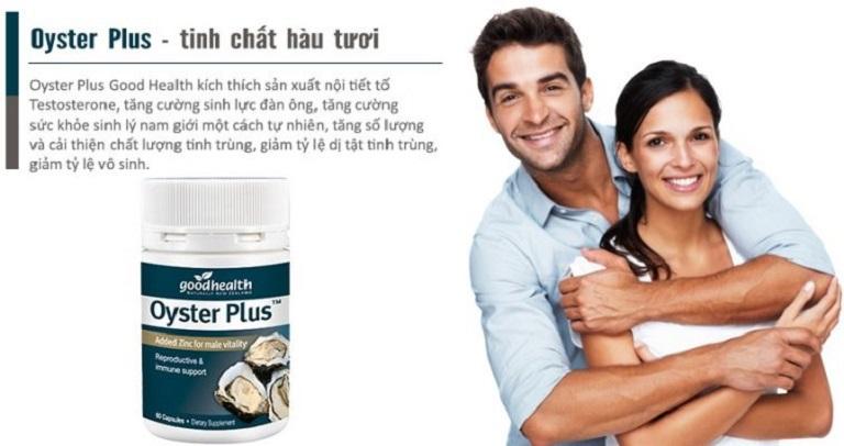 Tinh chất Hàu Oyster là thuốc bổ thận, tăng cường sinh lý nam có xuất xứ từ Úc