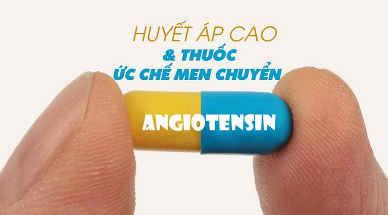 Angiotensin là thuốc chống tăng huyết áp thường dùng