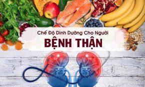 Chế độ dinh dưỡng đóng vai trò quan trọng trong việc điều trị bệnh