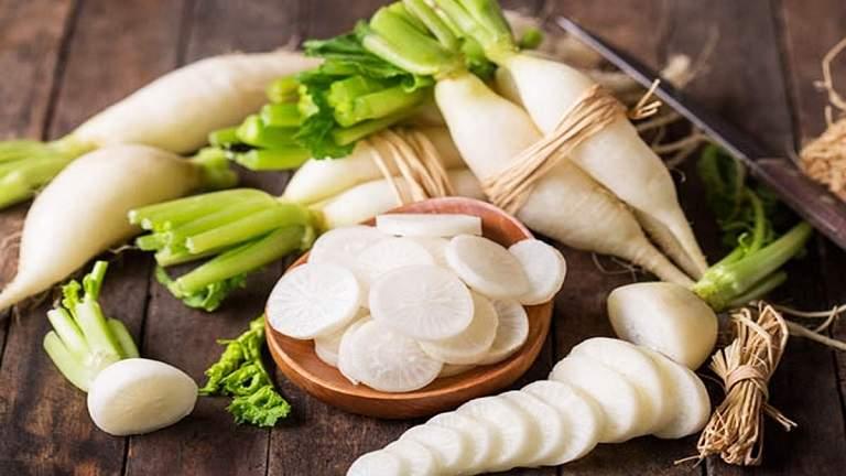 Củ cải là thực phẩm tốt cho người bệnh