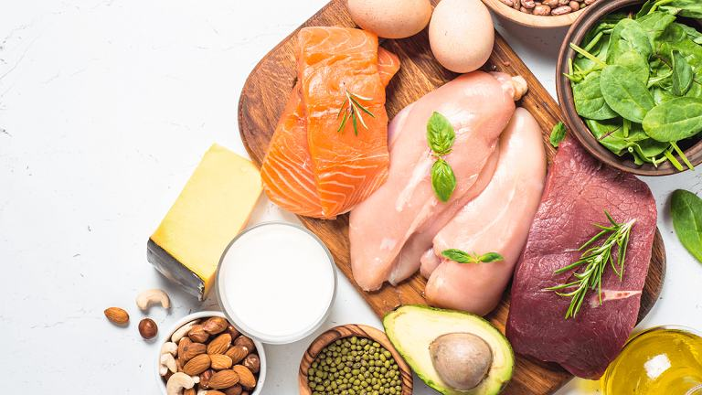 Người bệnh cần bổ sung một số thực phẩm giàu đạm động vật