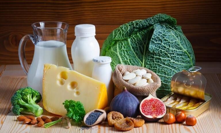 Bị sỏi bàng quang nên ăn gì? - Thực phẩm giàu canxi