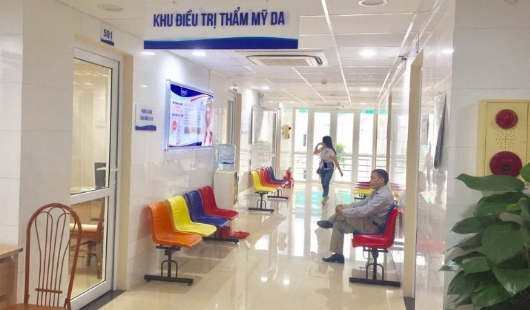 Bệnh viện Da liễu Hà Nội được nhiều người tin tưởng